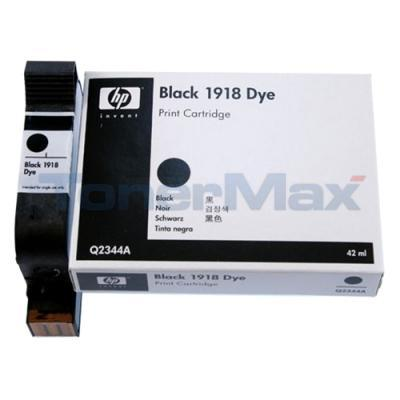 HP TIJ 2.5 INDUSTRIAL 1918 DYE-BASED PRINT CARTRIDGE BLACK
